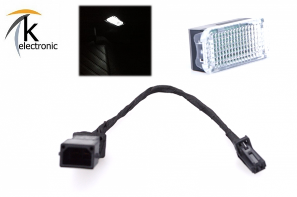 AUDI A5 8T 8F Handschuhfachbeleuchtung Halogen -> LED-Umbaupaket