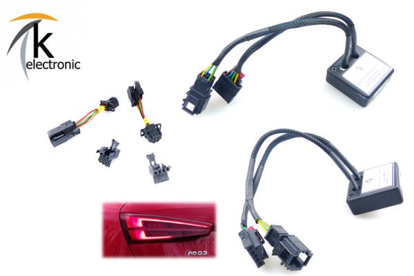 AUDI Q3 8U Halogen auf Facelift LED dynamischer Blinker Heckleuchten/Rückleuchten Anschlusspaket