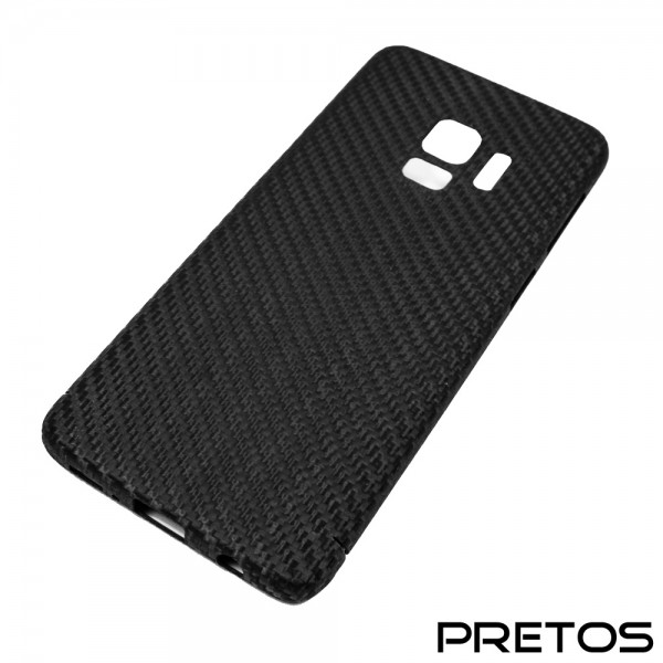 Echt-Carbon Handy Cover für Samsung Galaxy S9