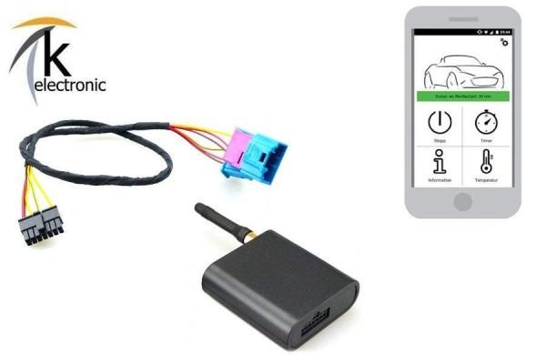 AUDI Q8 4M8 GSM Modul für Standheizung / Fernbedienung per Handy APP