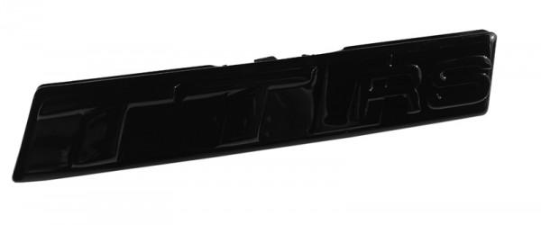 """Audi Schriftzug """"TT RS"""" für TT RS 8S schwarz glänzend für Kühlergrill"""