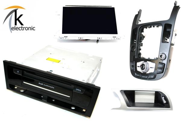 AUDI A5 8T 8F MMI3G auf MMI3G+ Facelift Navigation plus Umrüstpaket
