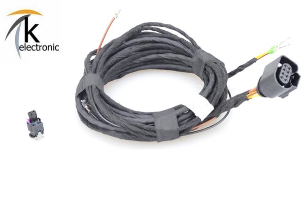 AUDI A3 8V motor sound package / active sound Abgasanlage Kabelsatz