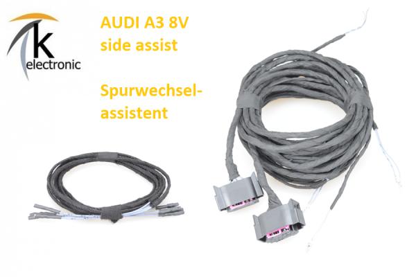AUDI A3 8V side assist Spurwechselassistent Kabelsatz