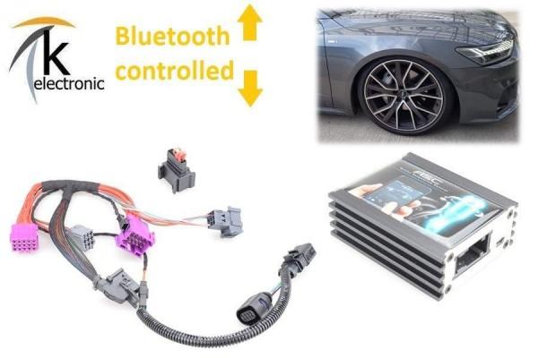 AUDI A6 4A C8 Luftfahrwerk Tieferlegung per Bluetooth APP active suspension control