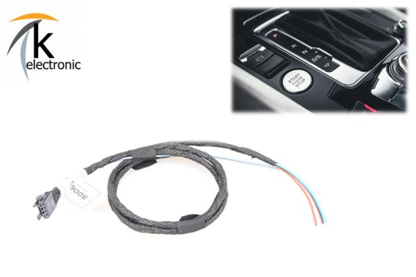AUDI Q5 8R Motorstartknopf ohne Keyless Kabelsatz